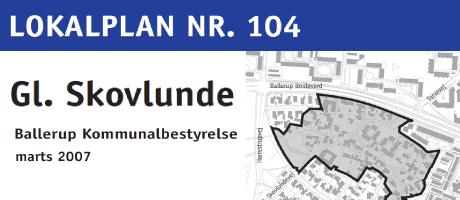 Lokalplan for Gl. Skovlunde